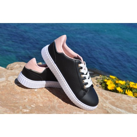 TO-108 NIÑA BLACK/PINK