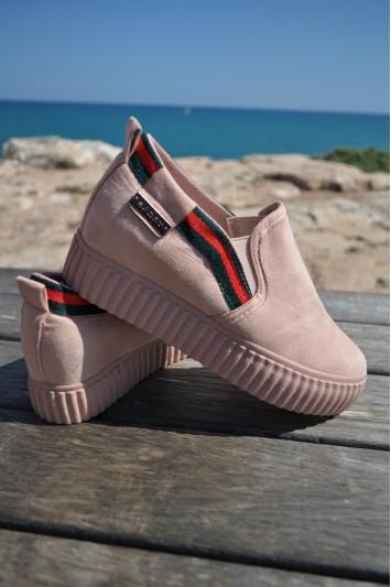 Zapato Dayna rosa