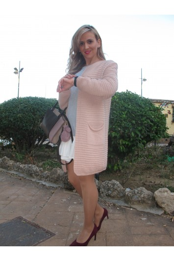 Cárdigan Reme rosa