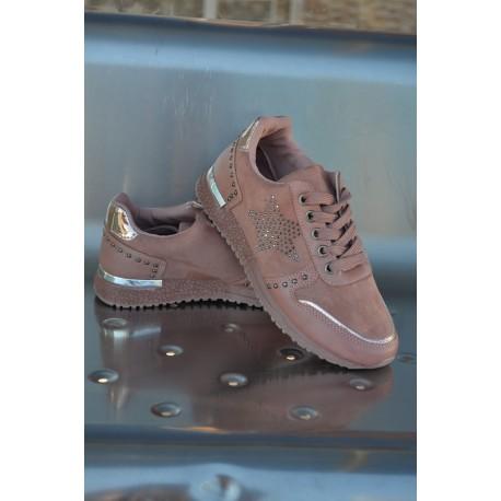 Zapatillas Mara rosa