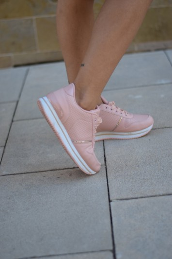 Zapatilla Seina rosa