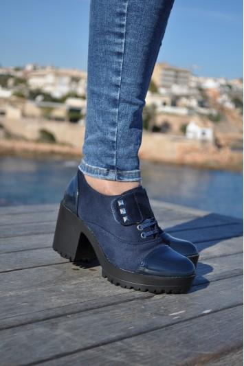 Zapatos Clea azul