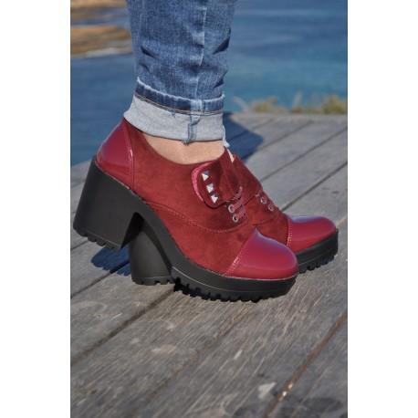 Zapatos Clea burdeos