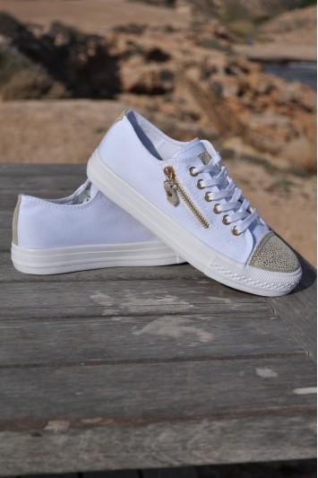 Zapatillas Lizy blanca